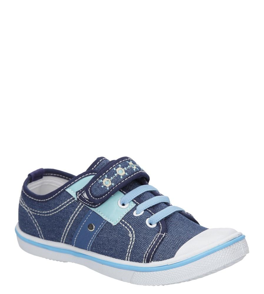 Dziecięce TRAMPKI HASBY T1948A niebieski;niebieski;