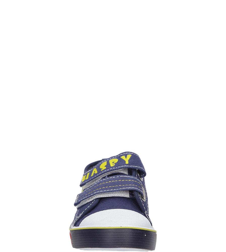 Dziecięce TRAMPKI HASBY T1917B niebieski;;