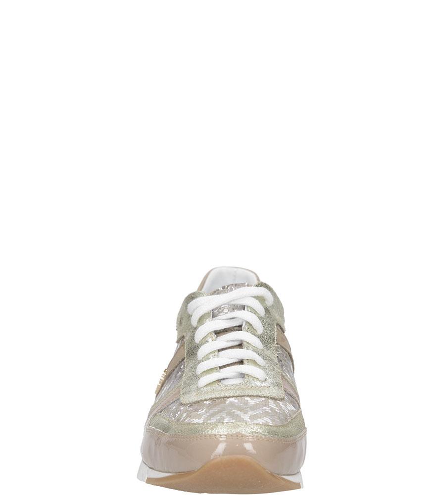 SPORTOWE LAURA MESSI 1354 kolor beżowy, złoty