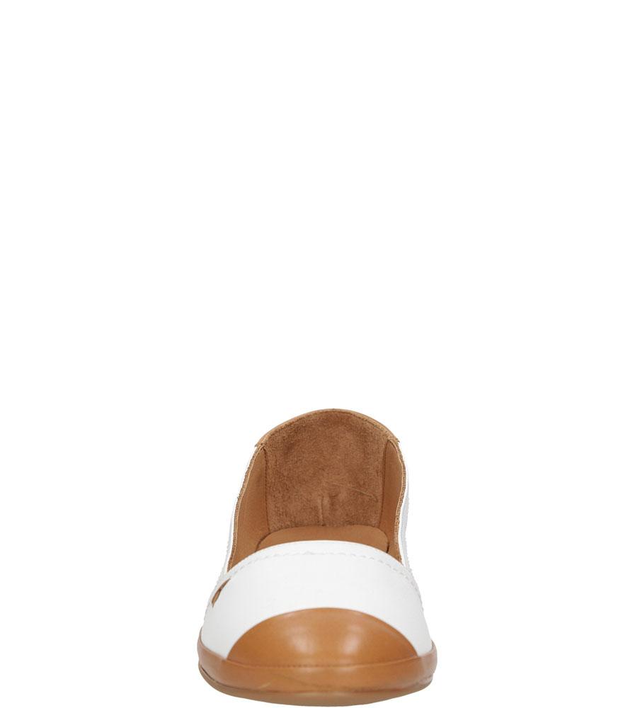 BALERINY LANQIER 38C460 kolor biały, brązowy