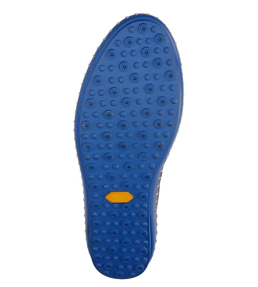 Męskie MOKASYNY LANQIER 38A428 niebieski;niebieski;