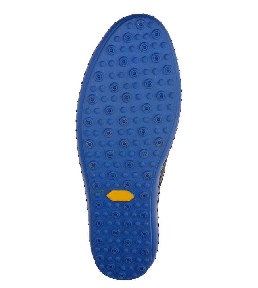Męskie PÓŁBUTY LANQIER 38A421 niebieski;niebieski;