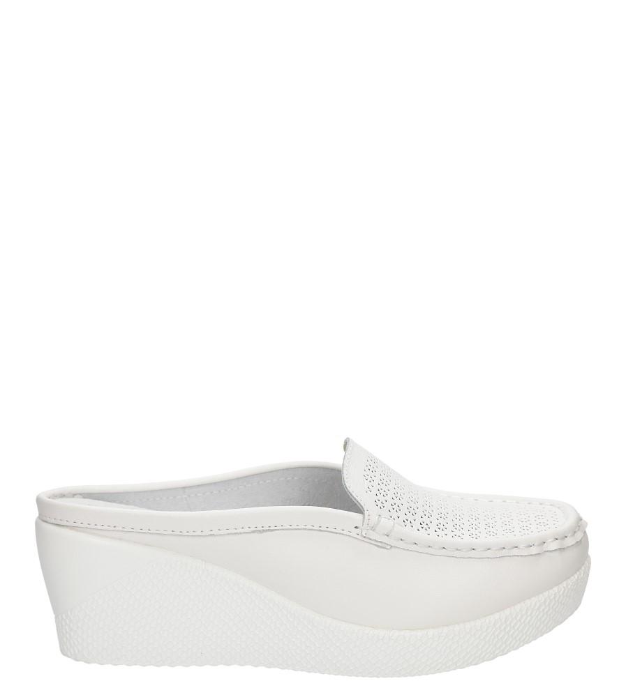 Damskie KLAPKI LANQIER 38C538 biały;;