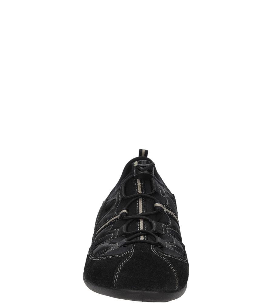 Damskie SPORTOWE RIEKER 59565 czarny;;