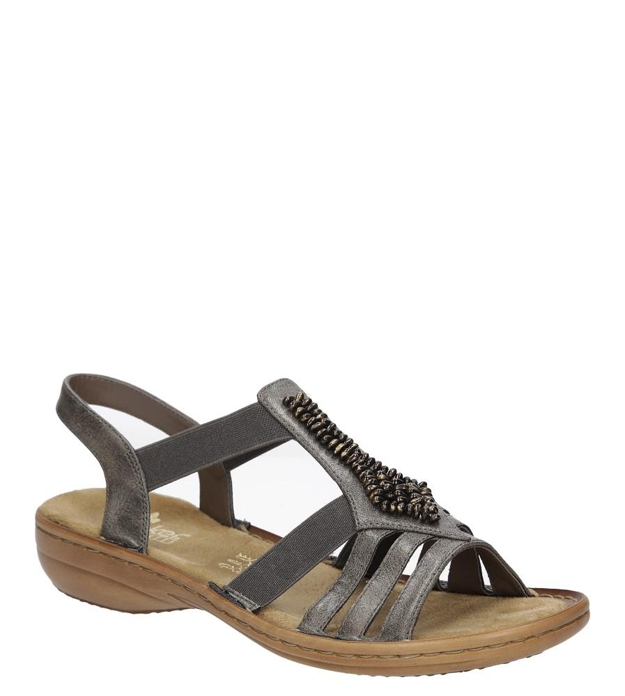 Sandały z ozdobami Rieker 60841 producent Rieker