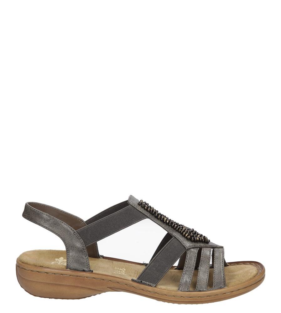 Sandały z ozdobami Rieker 60841 sezon Lato