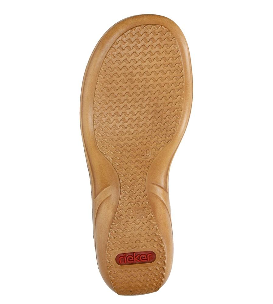Sandały z ozdobami Rieker 60841 wys_calkowita_buta 10 cm
