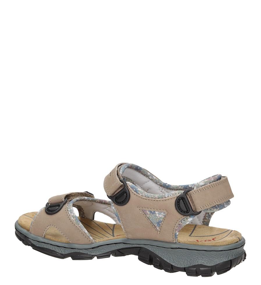 Sandały Rieker 68872 wysokosc_obcasa 3 cm