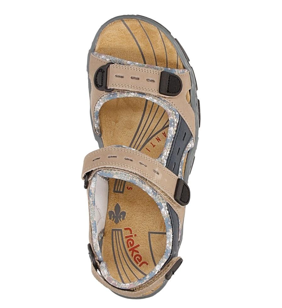 Sandały Rieker 68872 wysokosc_platformy 2 cm