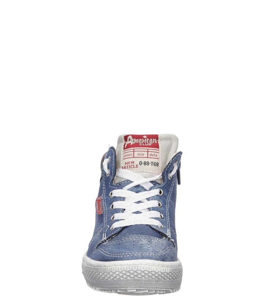 Dziecięce TRAMPKI AMERICAN G-C15194F niebieski;;