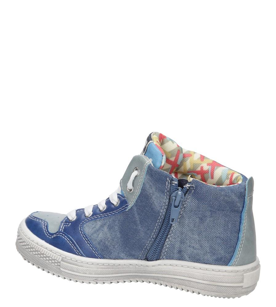 Dziecięce TRAMPKI AMERICAN G-C13141 niebieski;;