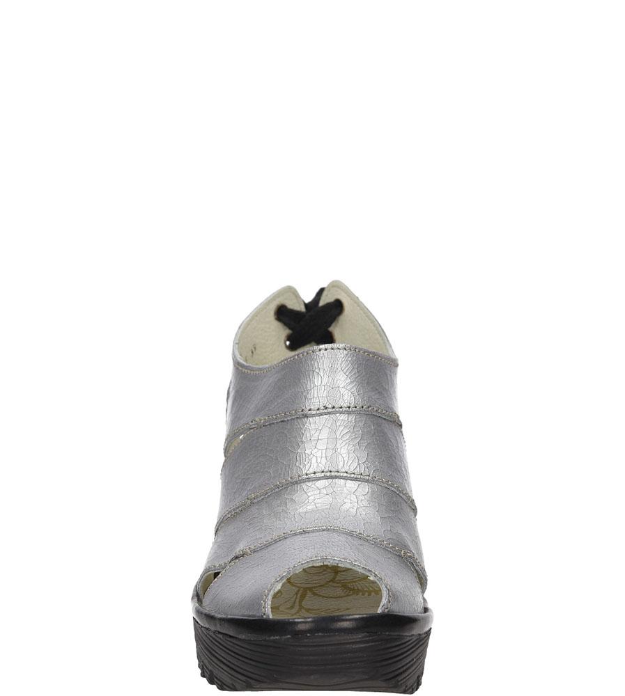 SANDAŁY FLY LONDON P50055301 kolor czarny, srebrny