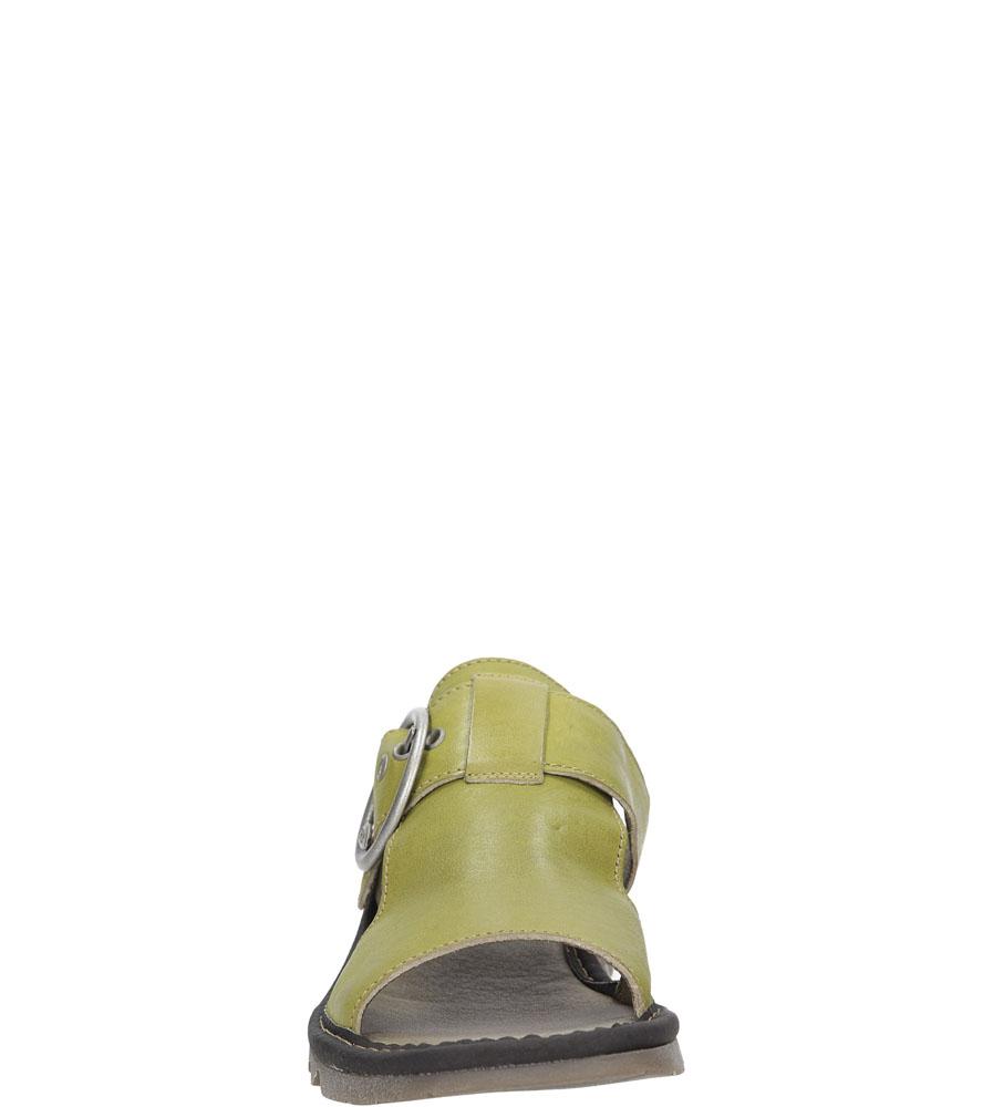 Damskie KLAPKI FLY LONDON P50053400 zielony;;