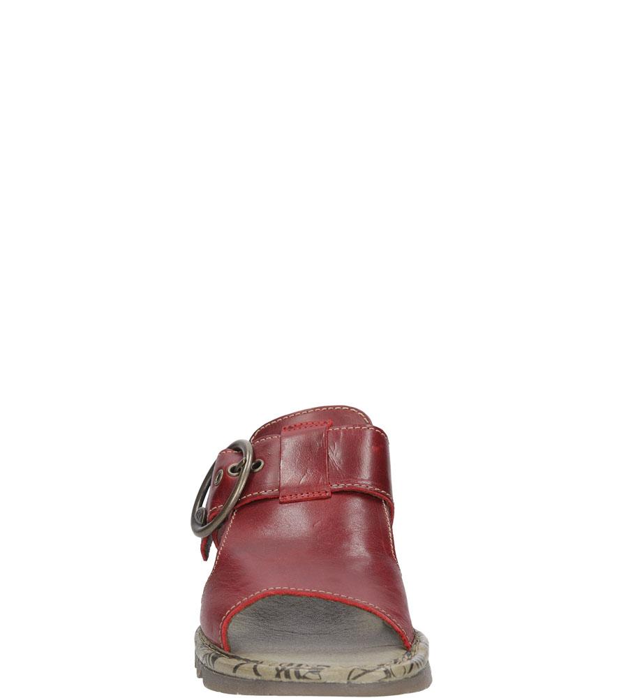 Damskie KLAPKI FLY LONDON P50053400 czerwony;;