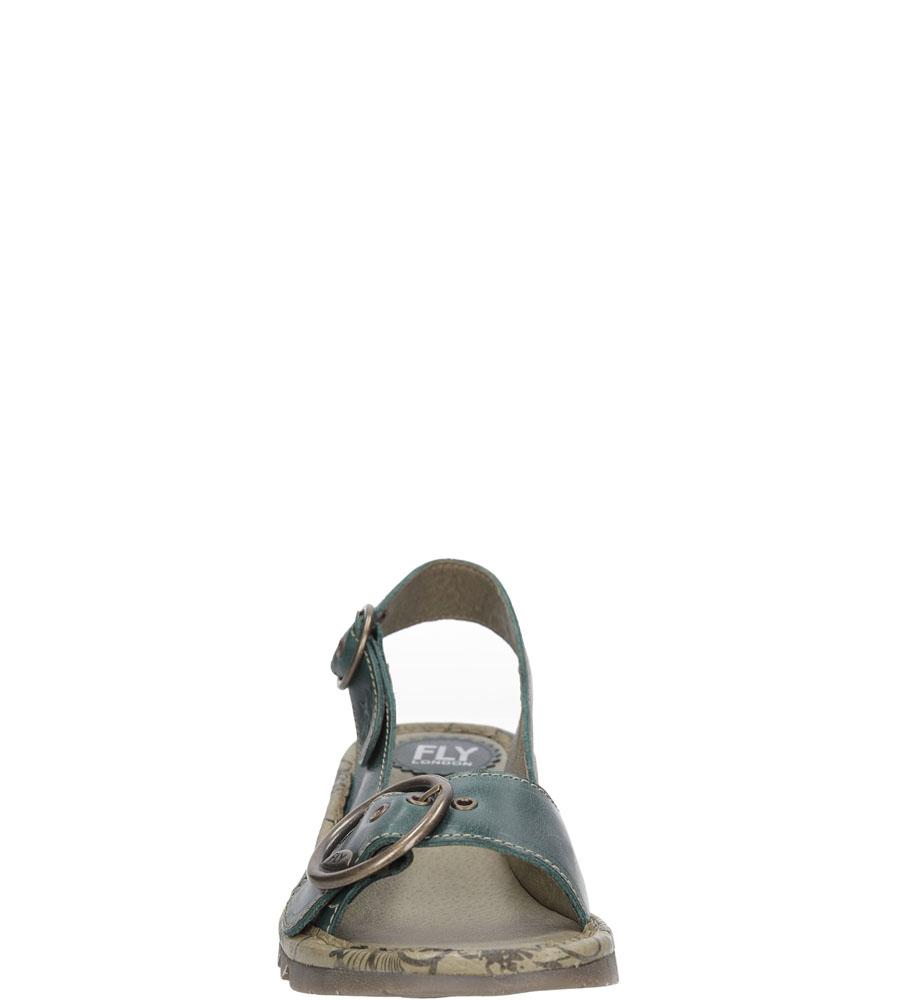 Damskie SANDAŁY FLY LONDON P5004520 zielony;;