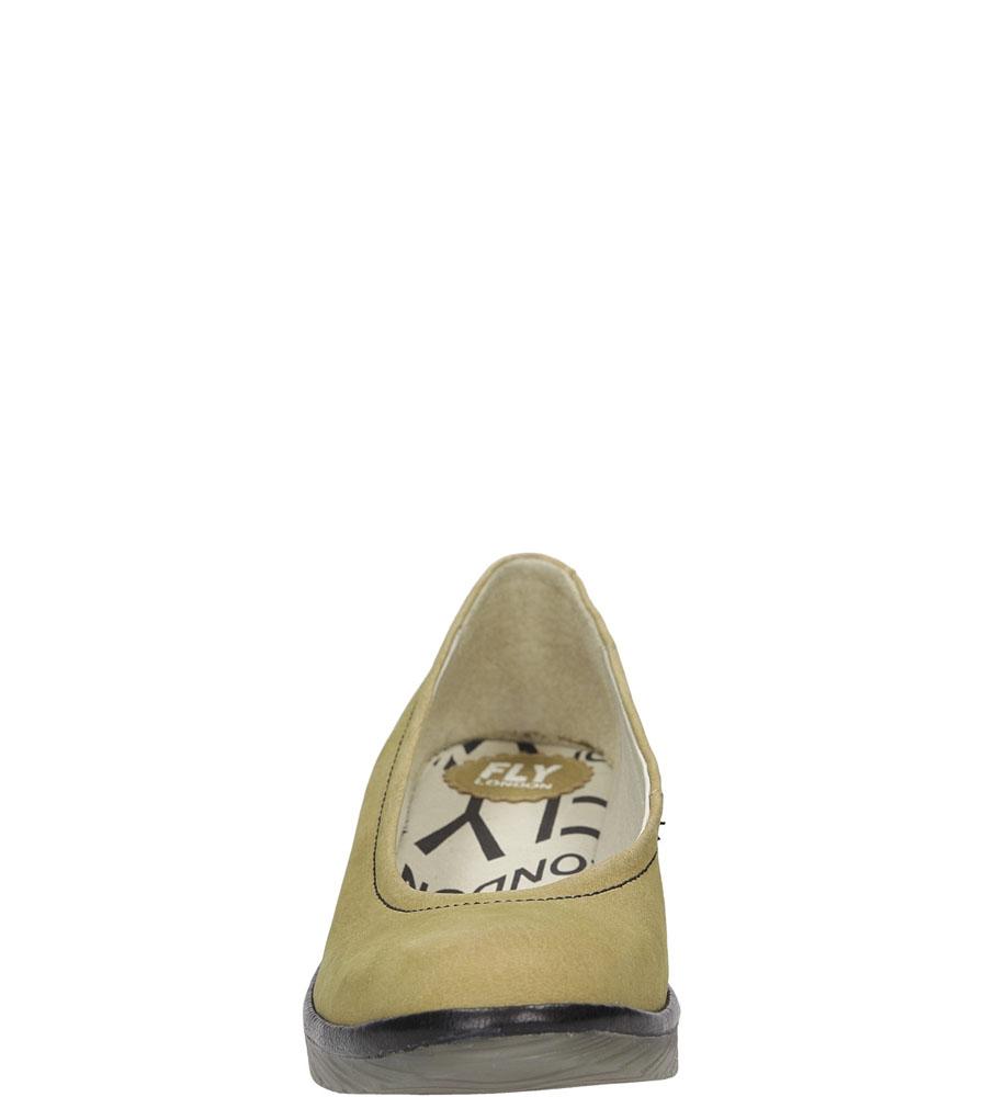 Damskie PÓŁBUTY FLY LONDON P5004240 brązowy;;