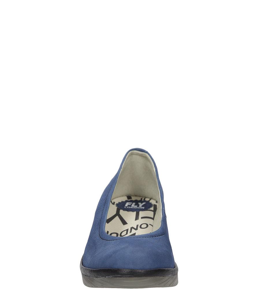 PÓŁBUTY FLY LONDON P5004240 kolor niebieski