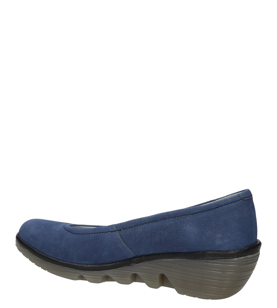 Damskie PÓŁBUTY FLY LONDON P5004240 niebieski;;