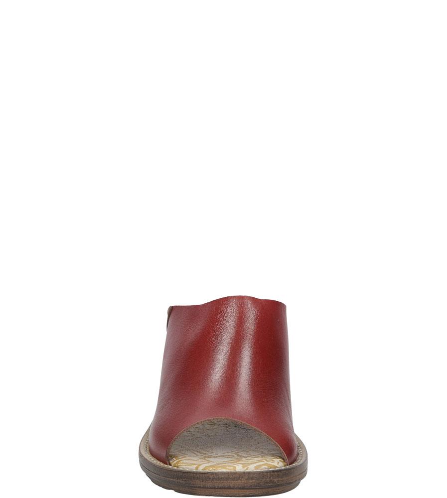 Damskie KLAPKI FLY LONDON P14349700 czerwony;;