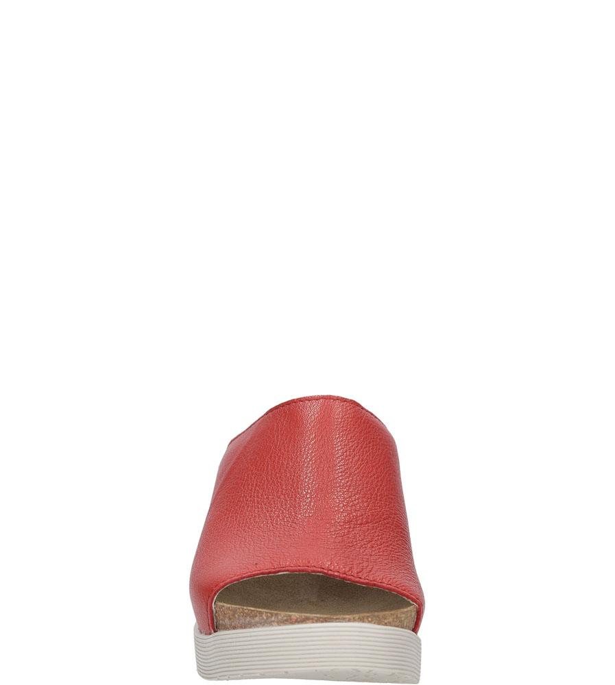 Damskie KLAPKI FLY LONDON P14367200 czerwony;;