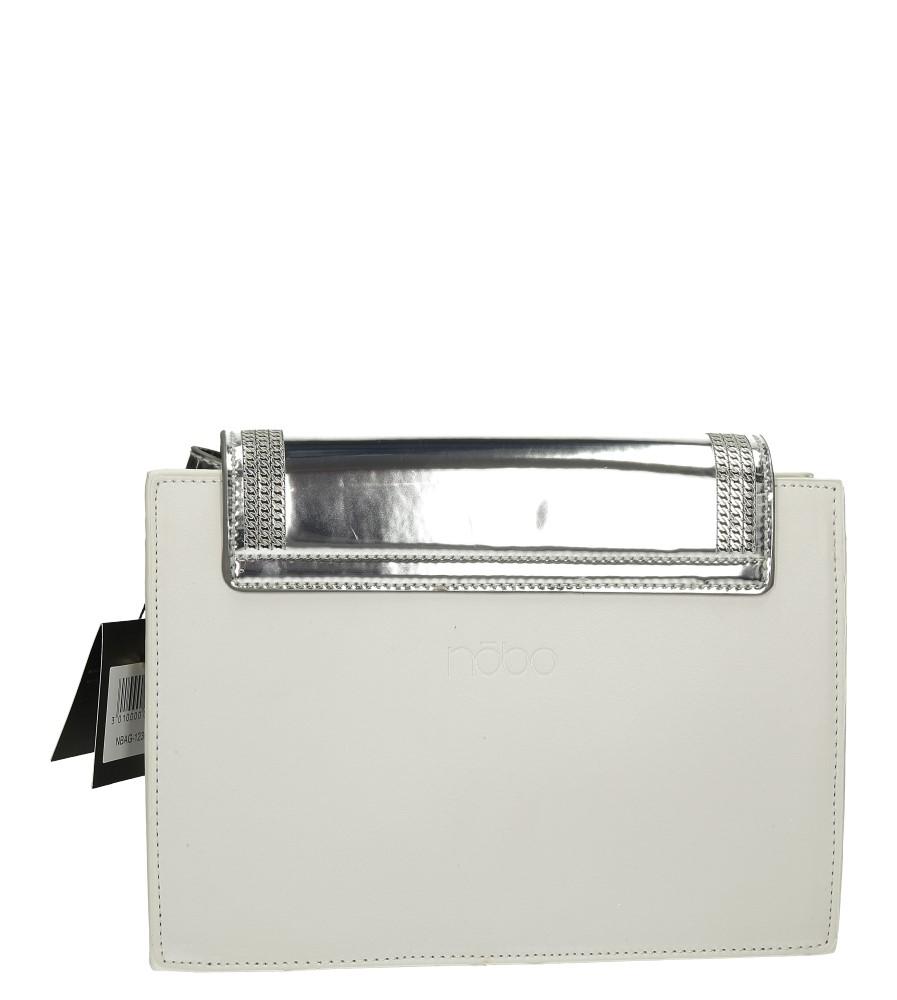 TOREBKA NOBO NBAG1230 kolor biały, srebrny