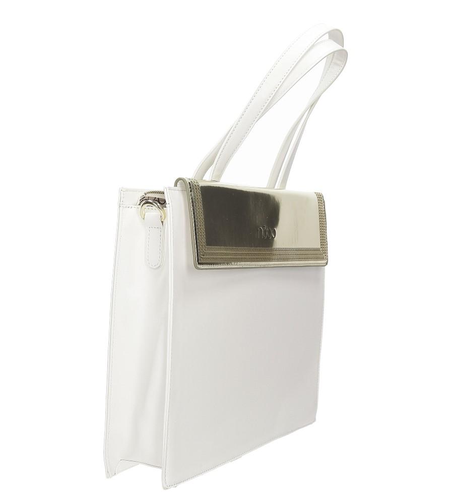 TOREBKA NOBO NBAG1250 kolor biały, złoty