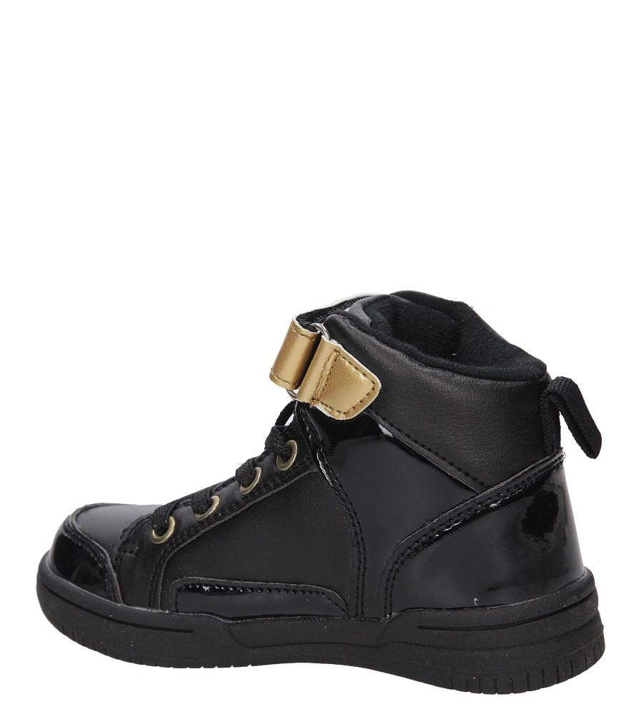 Dziecięce SPORTOWE 3A-XJ84556 czarny;złoty;