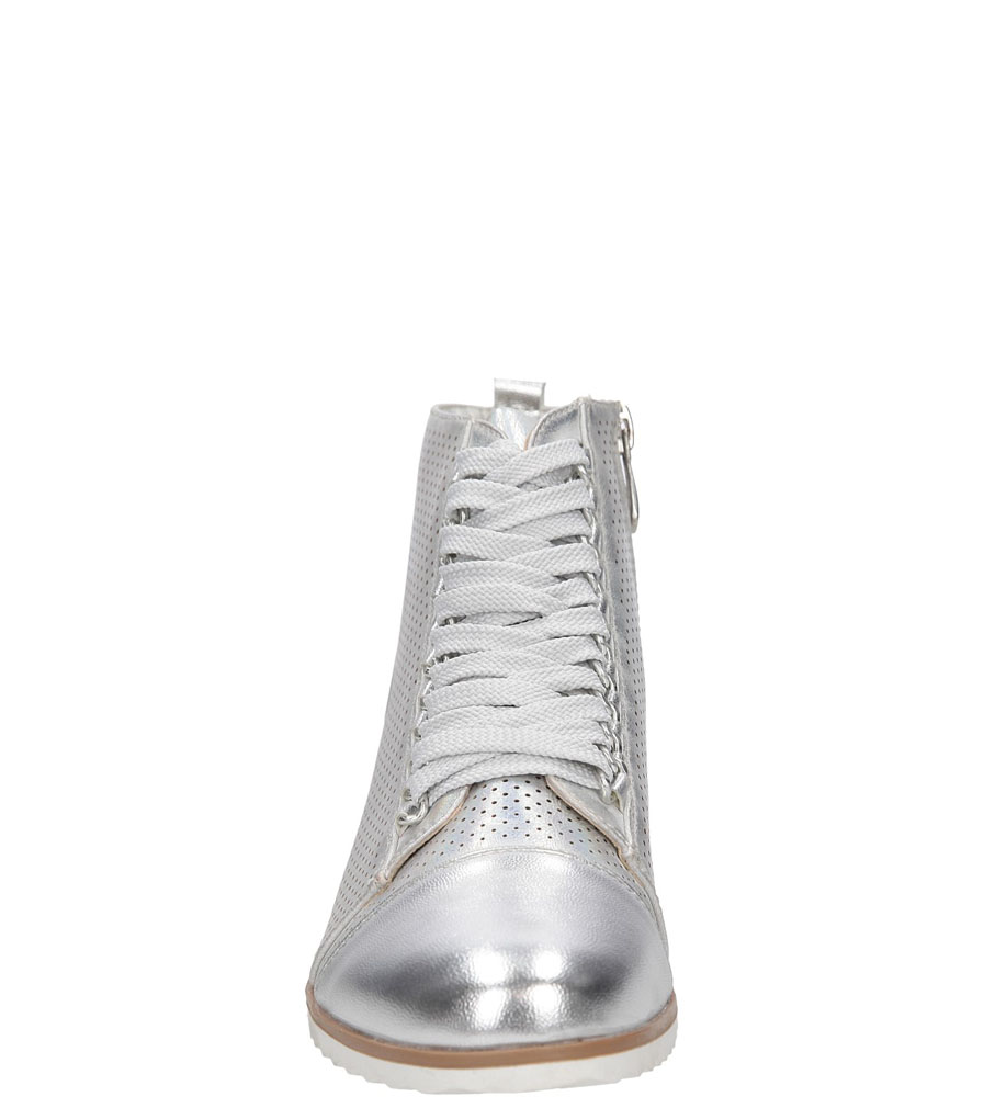 BOTKI CASU 15A-8618 kolor srebrny