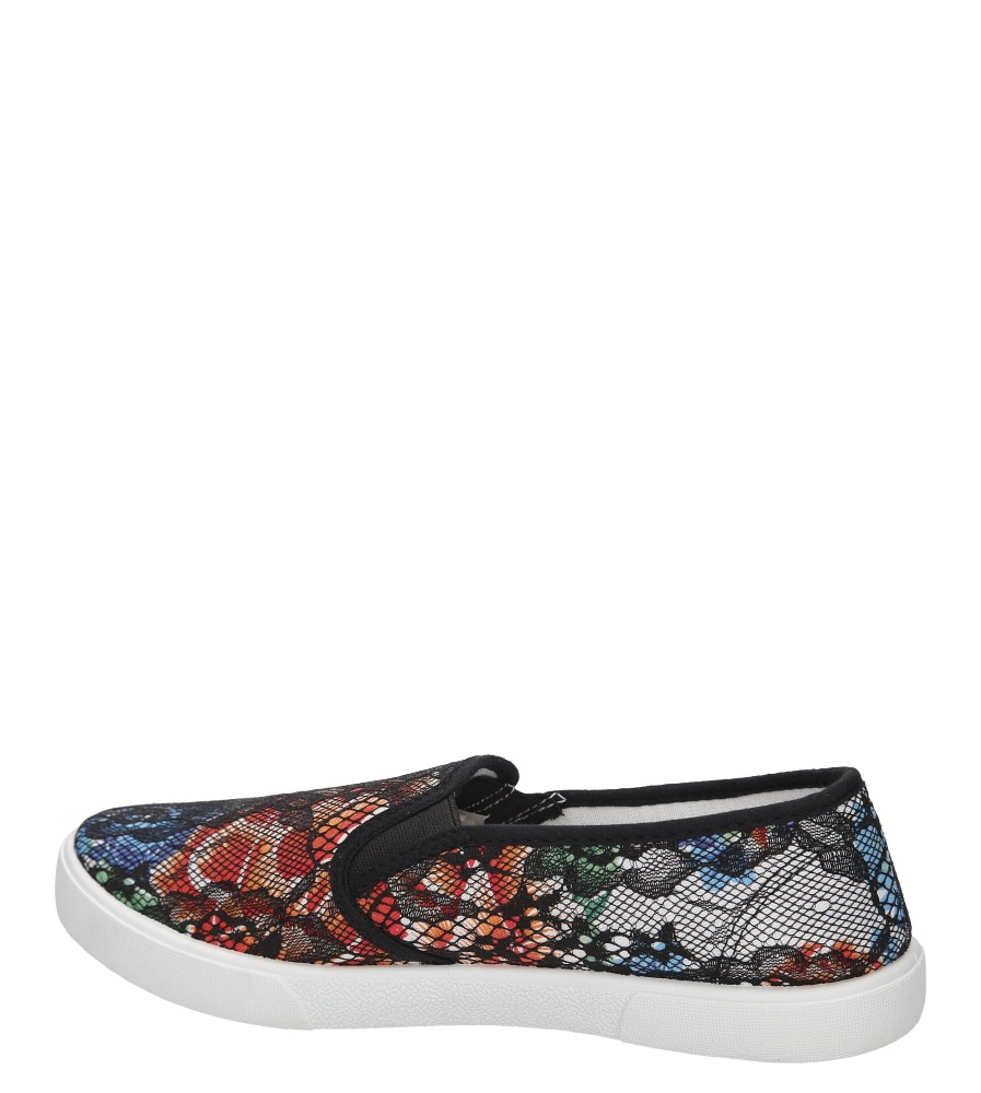 SLIP ON CASU DFM-2 kolor czarny