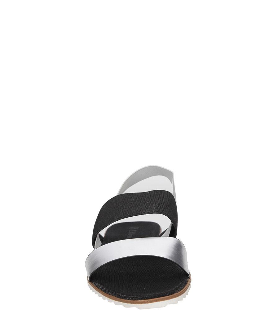 SANDAŁY S.BARSKI LS83609 kolor czarny, srebrny