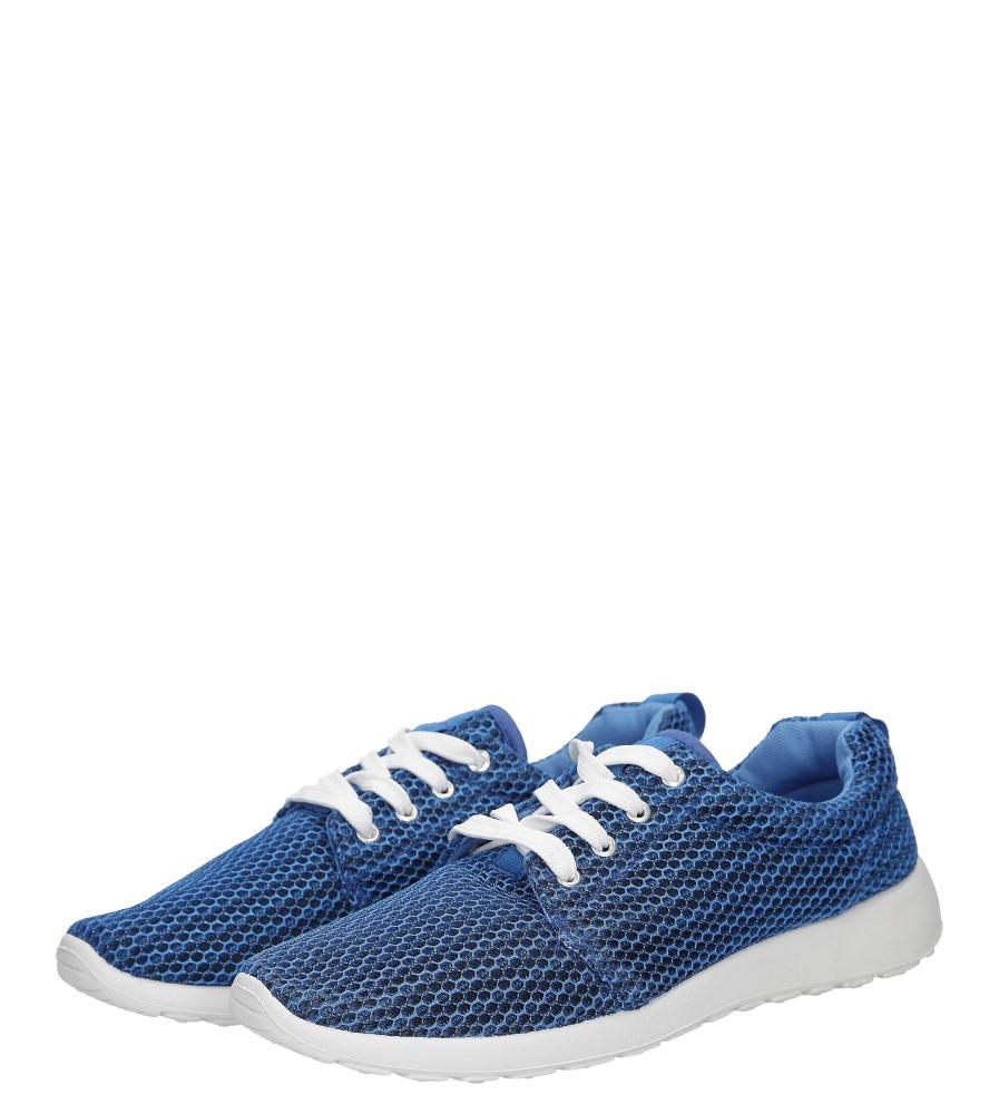 Damskie SPORTOWE CASU L62606 niebieski;;