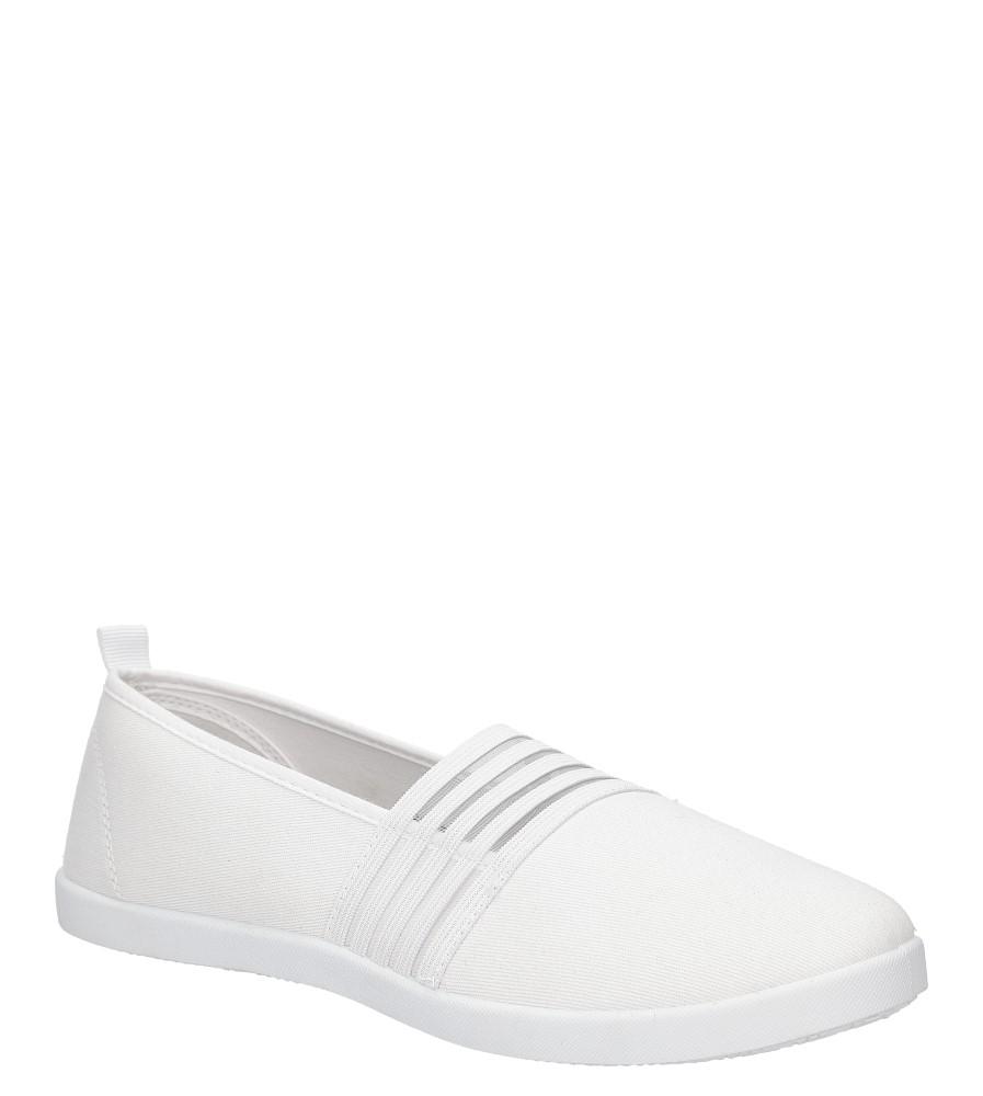Damskie TENISÓWKI CASU L62606 biały;;