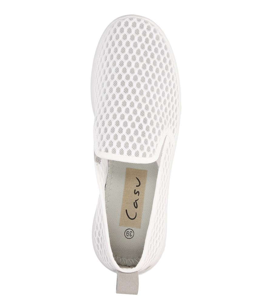 Damskie SPORTOWE CASU L62608 biały;;