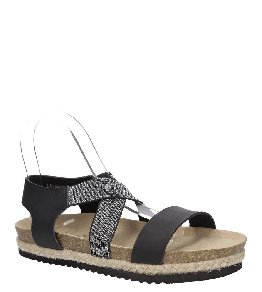Sandały na platformie S.Barski LS83607