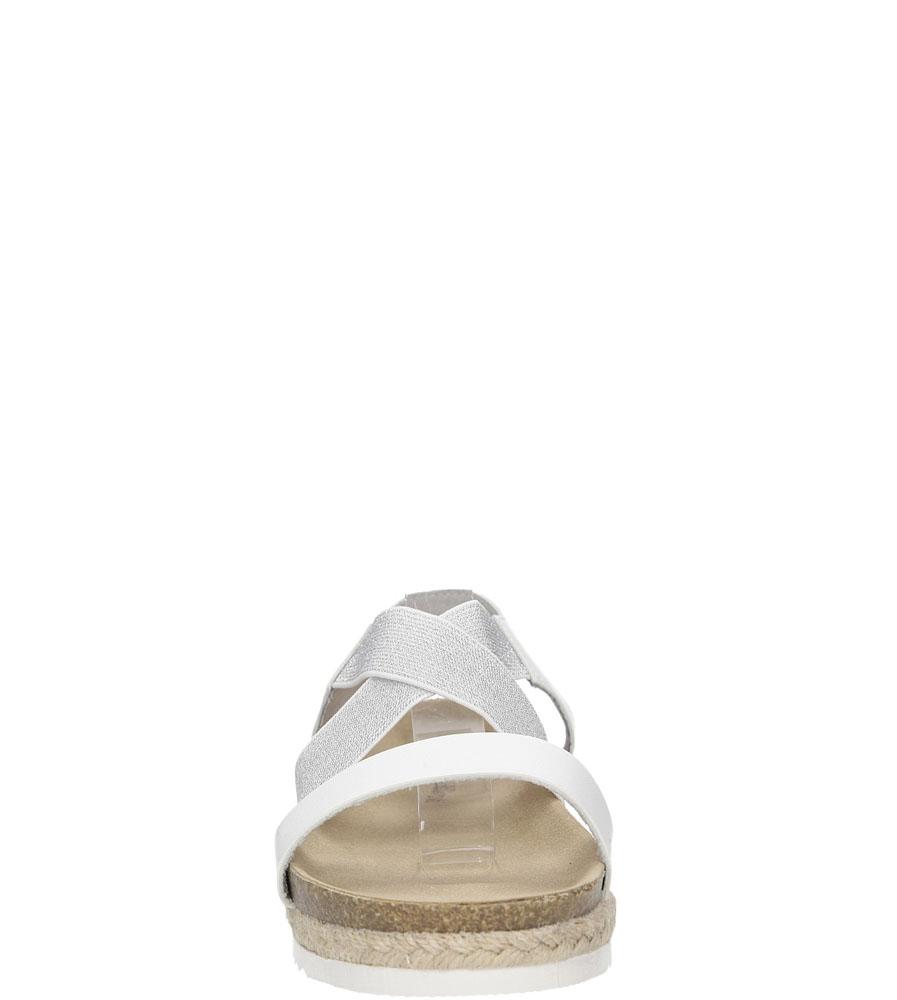 Sandały na platformie S.Barski LS83607 kolor biały