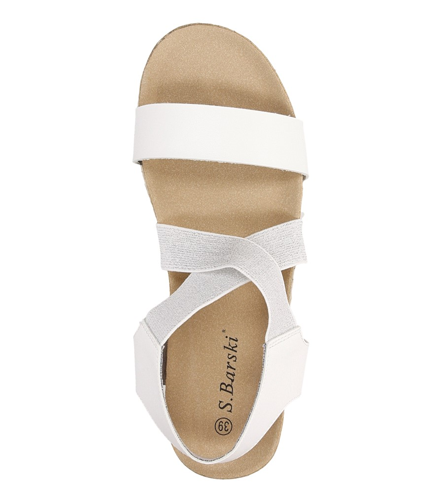 Sandały na platformie S.Barski LS83607 wys_calkowita_buta 8 cm