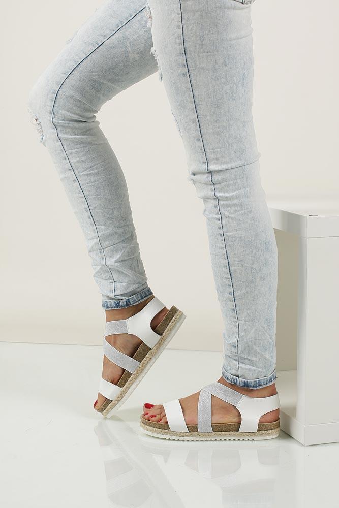 Sandały na platformie S.Barski LS83607 nosek_buta otwarty