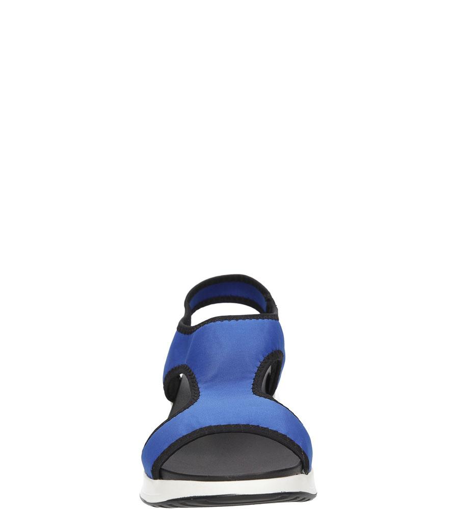 Damskie SANDAŁY CASU LS55606 niebieski;;