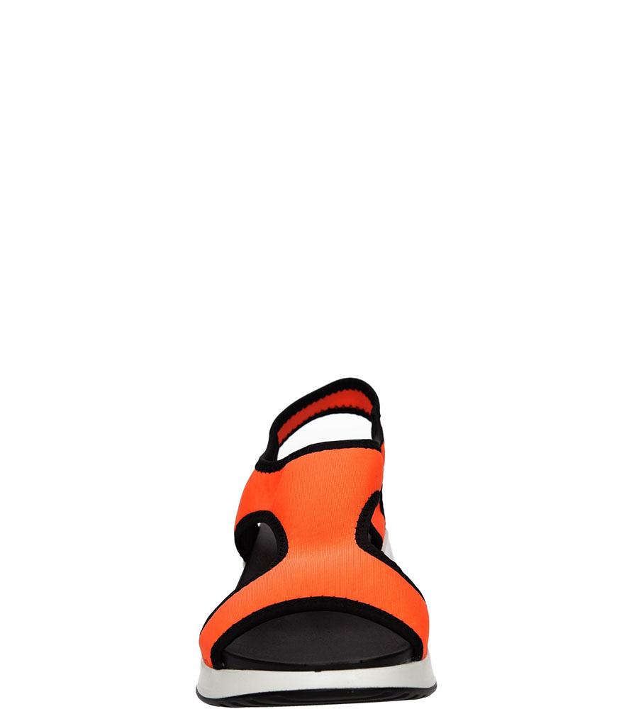 SANDAŁY CASU LS55606 kolor pomarańczowy