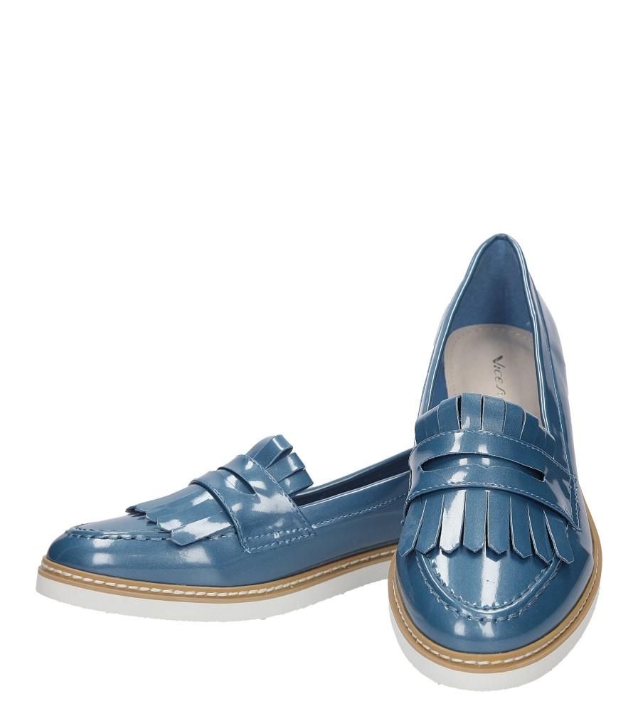 Damskie MOKASYNY VICES 781 niebieski;;