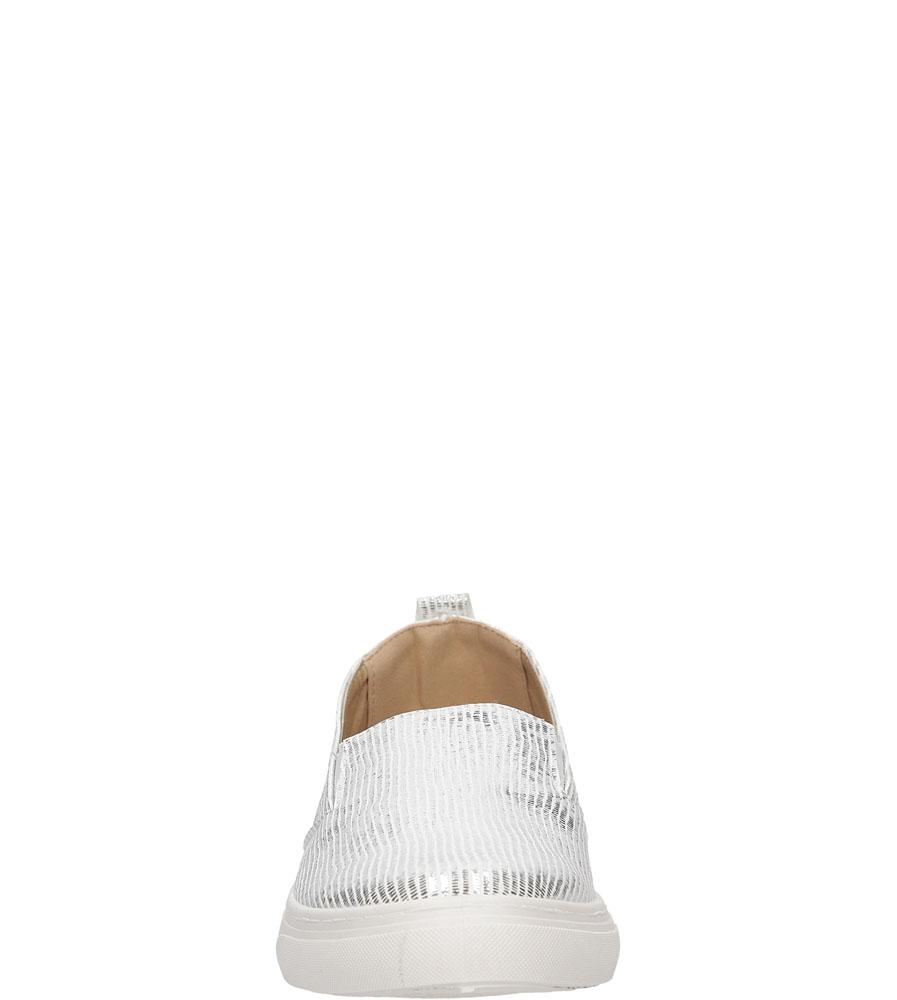 SLIP ON VICES K01 kolor biały, srebrny