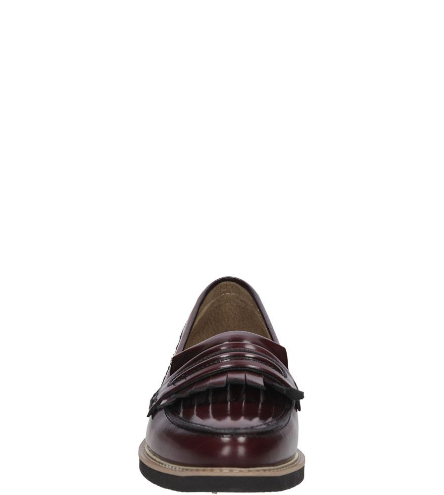 MOKASYNY NESSI 75706 kolor bordowy