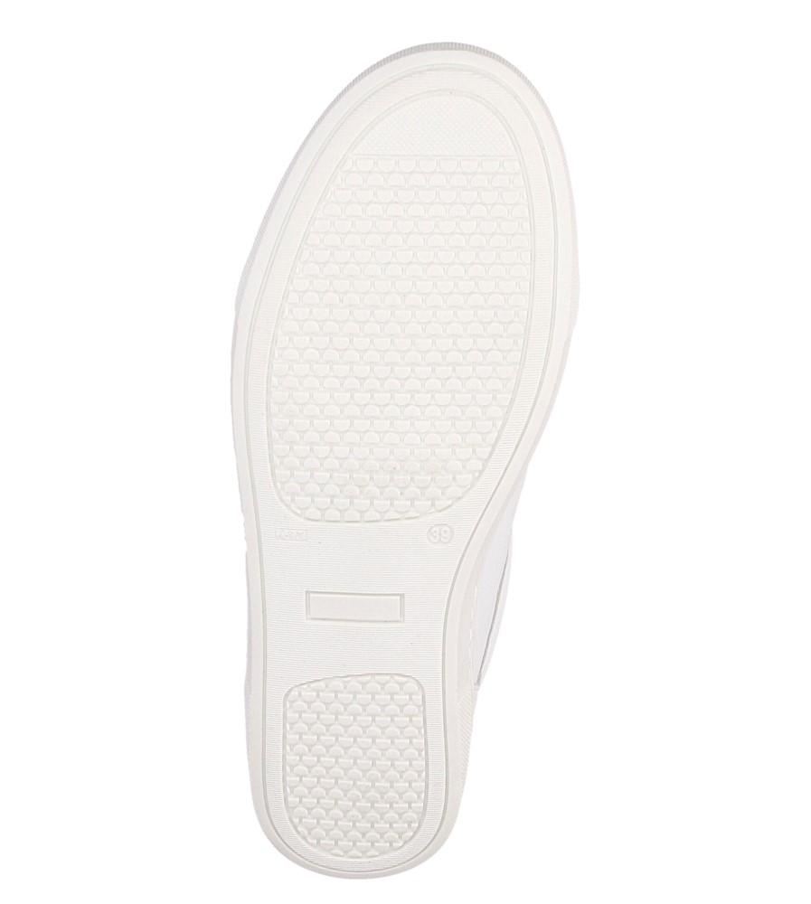 Damskie TRAMPKI NESSI 77406 biały;złoty;