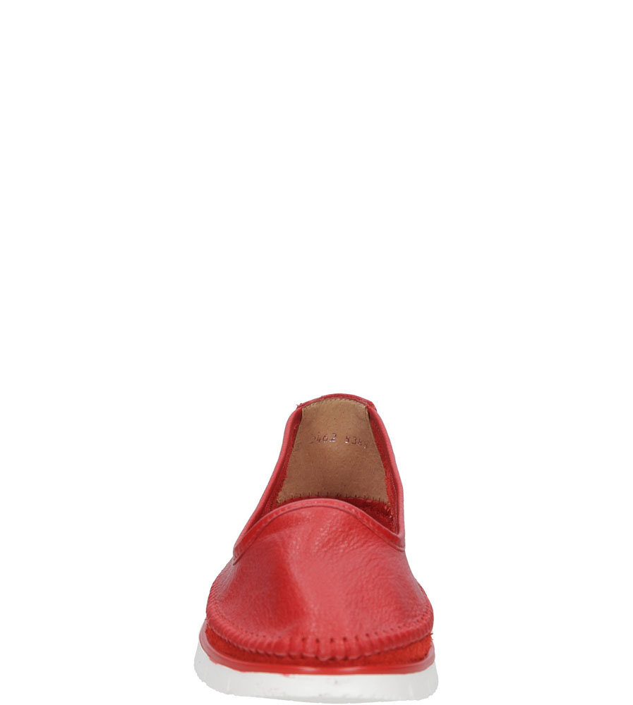 Damskie PÓŁBUTY MACIEJKA 02462 czerwony;;