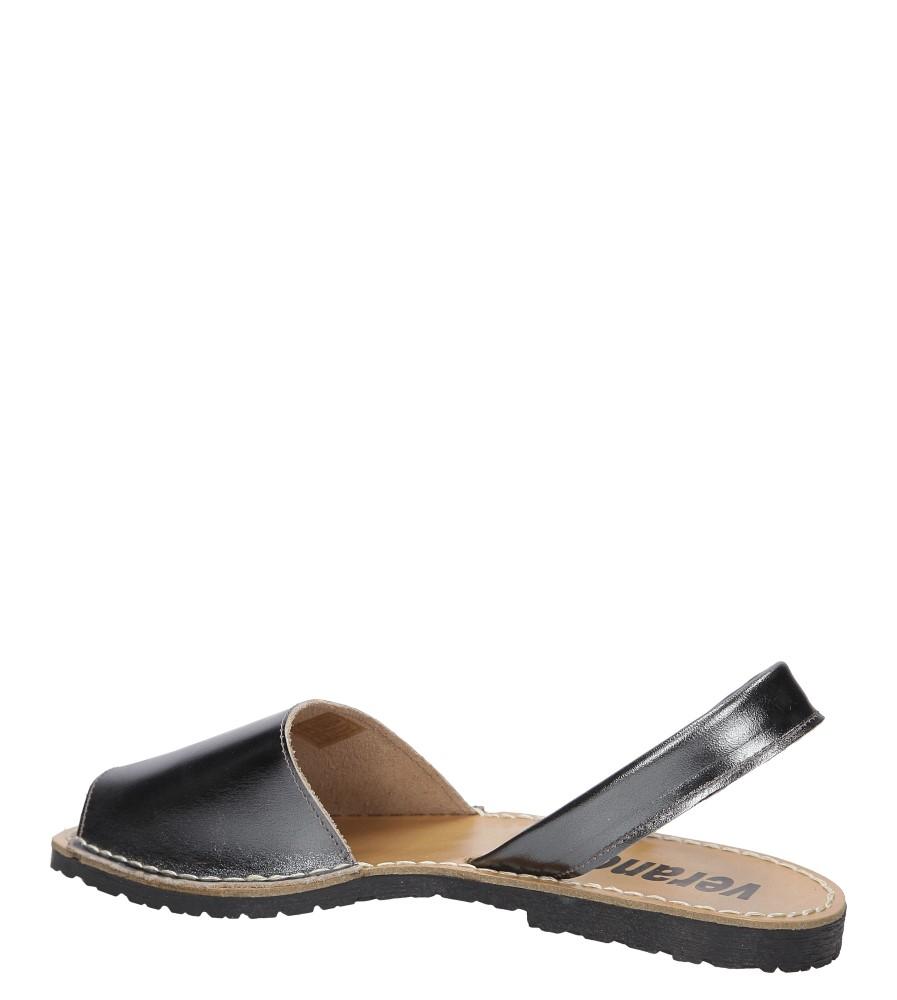 Sandały skórzane Verano 201 wysokosc_obcasa 1 cm