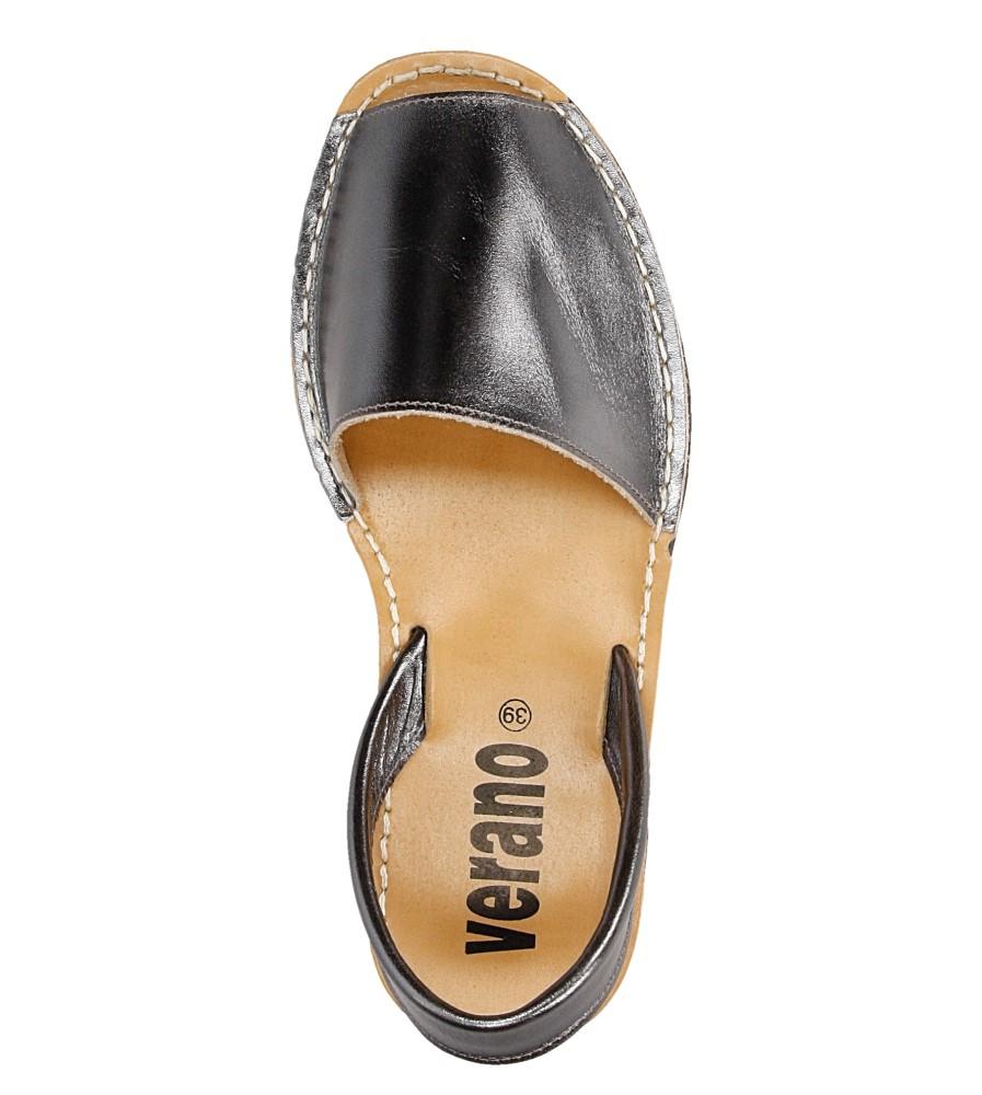 Sandały skórzane Verano 201 wysokosc_platformy 1 cm