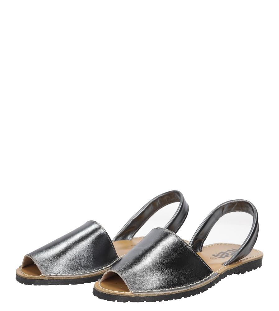 Sandały skórzane Verano 201 wierzch skóra naturalna - licowa