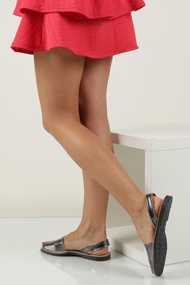 Sandały skórzane Verano 201 material_obcasa wysokogatunkowe tworzywo