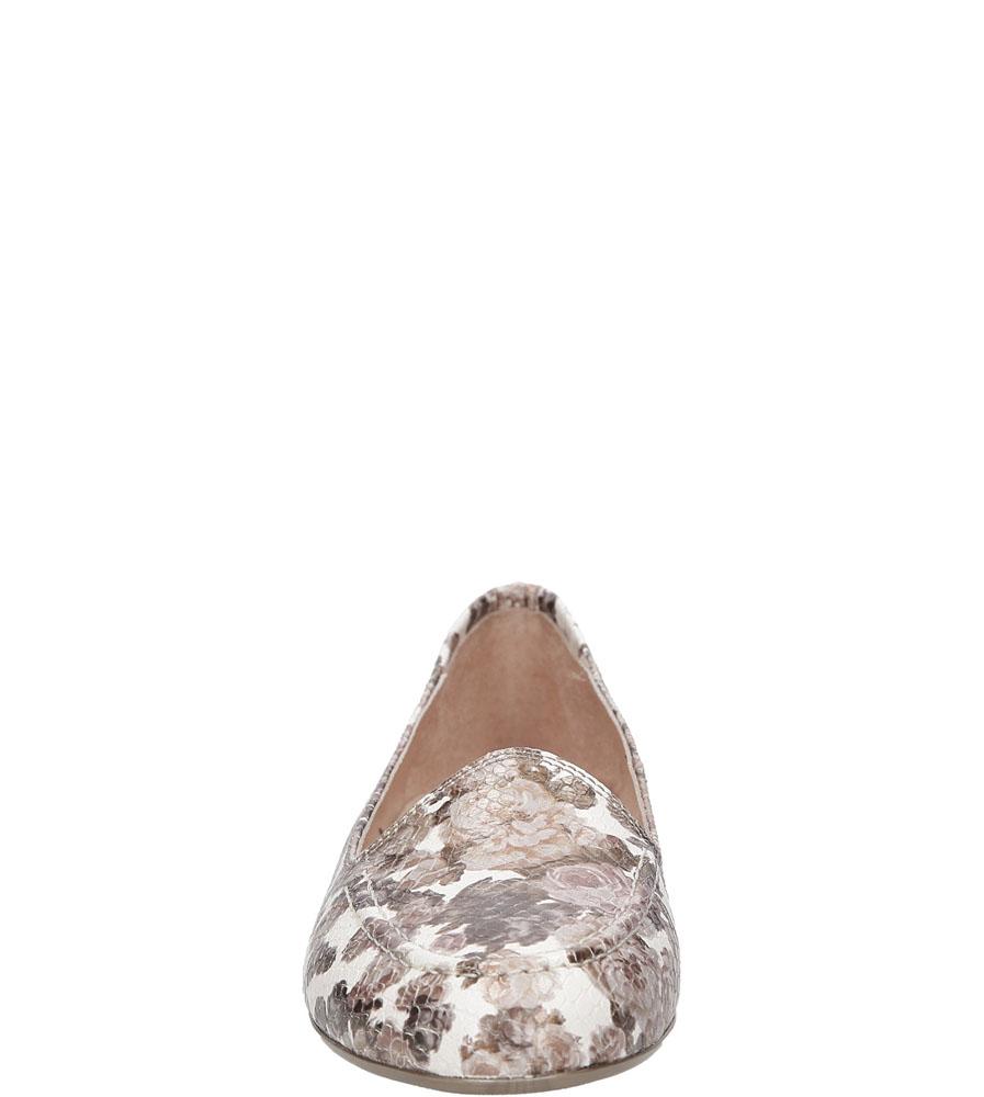 Damskie MOKASYNY HISPANITAS HV60177 beżowy;brązowy;biały