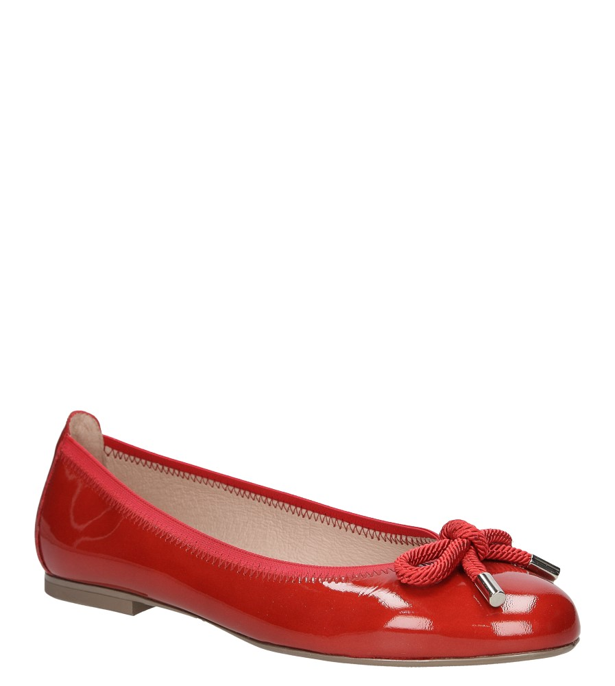 Damskie BALERINY HISPANITAS HV62715 czerwony;;